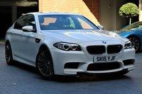 2015 BMW 5 SERIES 4.4 M5 4d AUTO 553 BHP £29500.00