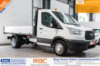 USED 2016 66 FORD TRANSIT 2.2 350 124 BHP  SINGLE CAB TIPPER