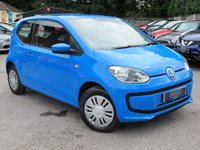 2014 VOLKSWAGEN UP 1.0 MOVE UP 3d 59 BHP £5499.00