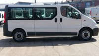 2014 VAUXHALL VIVARO 2.9T 2.0 CDTI 115 BHP 9 SEATER MINI BUS 1 OWNER  // 12 MONTHS WARRANTY COVER \ £8490.00