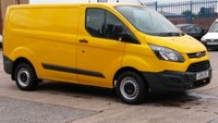2014 FORD TRANSIT CUSTOM 2.2 310 LR P/V 1d 124 BHP 1 OWNER F/S/H 2 KEYS X AA  12 MONTHS WARRANTY COVER \ £7490.00