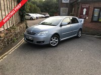 2006 TOYOTA COROLLA 1.6 T3 COLOUR COLLECTION VVT-I 5d 109 BHP £SOLD