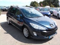 USED 2008 58 PEUGEOT 308 1.6 SW SR HDI 5d 108 BHP AFFORDABLE  FAMILY ESTATE CAR IN EXCELLENT CONDITION, DRIVES SUPERBLY WITH EXCELLENT SERVICE HISTORY !!