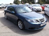 USED 2009 09 SAAB 9-3 1.9 VECTOR TID 2d 150 BHP ***Excellent economy - reliable family car  -  FSH  - Long MOT***