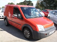 USED 2006 56 FORD TRANSIT CONNECT 1.8 T200 L SWB 75 TDCI 1d 75 BHP GREAT VAN, READY FOR WORK, DRIVES SUPERBLY, NO VAT !!