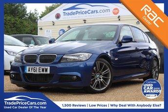 2011 BMW 3 SERIES 2.0 320D SPORT PLUS EDITION 4d AUTO 181 BHP £9950.00