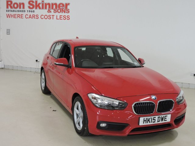 View our 2015 15 BMW 1 SERIES 1.5 116D ED PLUS 5d 114 BHP