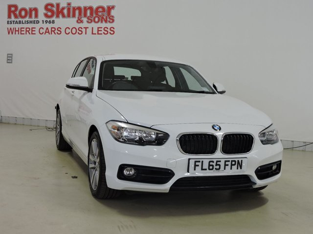View our 2015 65 BMW 1 SERIES 2.0 118D SPORT 5d 147 BHP
