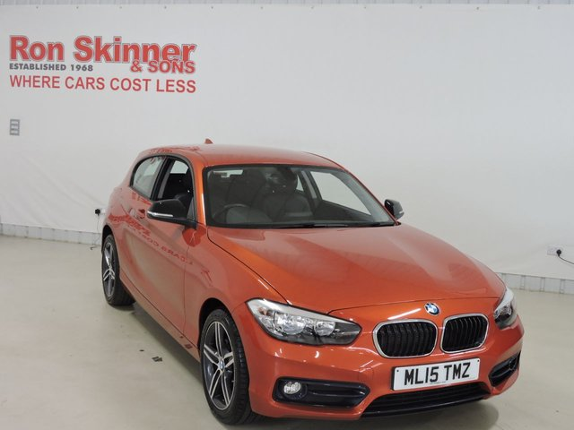 View our 2015 15 BMW 1 SERIES 1.6 118I SPORT 3d 134 BHP