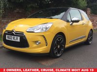 2012 CITROEN DS3 1.6 THP DSPORT PLUS 3d 156 BHP £5290.00