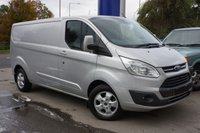 2017 FORD TRANSIT CUSTOM 2.0 290 LIMITED LR DCB 1d 129 BHP £15000.00