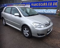 2005 TOYOTA COROLLA 1.4 T3 COLOUR COLLECTION VVT-I 5d 92 BHP £2499.00