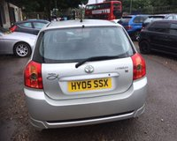 USED 2005 05 TOYOTA COROLLA 1.4 T3 COLOUR COLLECTION VVT-I 5d 92 BHP