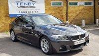 2011 BMW 5 SERIES 2.0 520D M SPORT 4d AUTO 181 BHP £10484.00