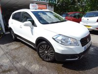 USED 2014 14 SUZUKI SX4 S-CROSS 1.6 SZ4 5d 118 BHP Full Suzuki Service History, MOT until April 2019