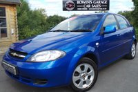 USED 2010 10 CHEVROLET LACETTI 1.6 SX 5d 108 BHP Demo +1 Owner - 5 Services - Low Miles - Air Con