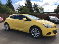 2012 VAUXHALL ASTRA 1.4 GTC SRI S/S 3d  WITH A VERY LOW MILEAGE  £7000.00