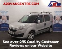 2016 VAUXHALL COMBO VAN 1.2 2000  CDTI SPORTIVE 90 BHP + NO VAT + Extra Seats (5 Seats),  Aux, Bluetooth Connectivity, Roof Bars,  4.9% Flat Rate Finance Available £7980.00
