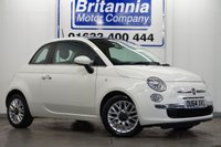 2014 FIAT 500 1.2 LOUNGE HIGH SPEC 70 BHP £4990.00
