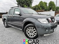 USED 2015 15 NISSAN NAVARA 3.0 OUTLAW DCI 4X4 SHR DCB 1d AUTO 228 BHP 1 PREVIOUS OWNER + FULLY LOADED