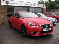 2015 LEXUS IS 2.0 200T SPORT 4d AUTO 242 BHP £SOLD