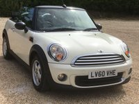 2010 MINI CONVERTIBLE 1.6 ONE 2d 98 BHP £5495.00
