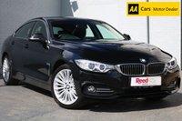 USED 2015 15 BMW 4 SERIES 2.0 420D XDRIVE LUXURY GRAN COUPE 4d AUTO 181 BHP NAV + PARKING SENSORS + ALLOYS