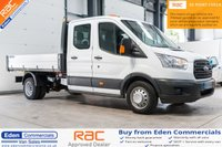 2016 FORD TRANSIT 2.2 350 L3 DCB 124 BHP DOUBLE CAB TIPPER £16491.00