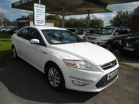 USED 2013 13 FORD MONDEO 2.0 ZETEC TDCI 5d 138 BHP ONE FORMER KEEPER