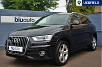 USED 2012 12 AUDI Q3 2.0 TDI QUATTRO S LINE 5d AUTO 175 BHP Satellite Navigation, Part Leather Sport Seats, Front & Rear Sensors, Bluetooth, Voice Command.......