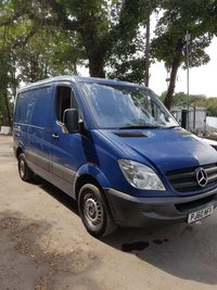 USED 2011 60 MERCEDES-BENZ SPRINTER 2.1 313 CDI SWB 1d 129 BHP EXCELLENT DRIVE FIRST TO SEE WILL BUY ... NO VAT