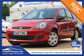 2007 FORD FIESTA 1.6 STYLE CLIMATE 16V 5d AUTO 100 BHP £3450.00