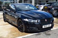 2015 JAGUAR XF 2.2 D R-SPORT BLACK 4d AUTO 200 BHP £18295.00