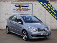USED 2007 07 MERCEDES-BENZ B CLASS 2.0 B200 TURBO 5d 191 BHP Mercedes History A/C Leather 0% Deposit Finance Available