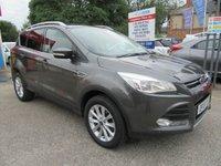2015 FORD KUGA 2.0 TITANIUM TDCI 5d AUTO 177 BHP £14250.00