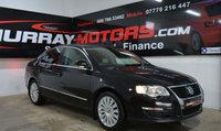 2010 VOLKSWAGEN PASSAT 2.0 HIGHLINE TDI 4DOOR DEEP BLACK PEARL £4999.00