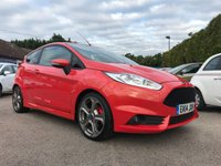 2014 FORD FIESTA 1.6 ST-2 3d 180 BHP WITH 4 MAIN DEALER SERVICES IN MOULTON ORANGE  £9500.00