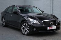 USED 2014 L INFINITI M 3.5 M35H 4d AUTO 364 BHP SATNAV+REAR CAMERA+XENONS