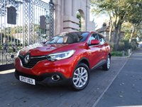 USED 2017 17 RENAULT KADJAR 1.5 DYNAMIQUE NAV DCI 5d 110 BHP ***FINANCE ARRANGED***PART EXCHANGE WELCOME***1 OWNER***LOW MILEAGE***RENAULT SERVICE HISTORY***MANUFACTURER'S WARRANTY UNTIL 29.04.21***