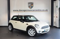 USED 2007 57 MINI HATCH COOPER 1.6 COOPER 3DR 118 BHP + HALF LEATHER INTERIOR + FULL SERVICE HISTORY +  SPORT SEATS + XENON LIGHTS + AUXILIARY PORT + LIGHT PACKAGE + 16 INCH ALLOY WHEELS +
