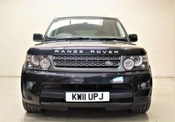 2011 LAND ROVER RANGE ROVER SPORT 3.0 TDV6 SE 5d AUTO 245 BHP £17985.00