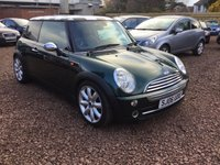 2006 MINI HATCH COOPER 1.6 COOPER 3d AUTO 114 BHP £2999.00