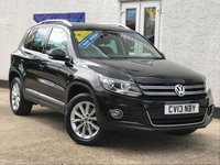 2013 VOLKSWAGEN TIGUAN 2.0 SE TDI BLUEMOTION TECHNOLOGY 4MOTION DSG 5d AUTO 138 BHP £12495.00