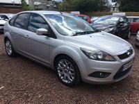 USED 2009 59 FORD FOCUS 1.6 ZETEC 5d 100 BHP VERY LOW MILEAGE
