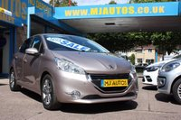 USED 2015 15 PEUGEOT 208 1.2 ALLURE 5dr 82 BHP ZERO DEPOSIT FINANCE AVAILABLE FROM 8.9% APR