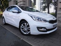 USED 2016 65 KIA PRO_CEE'D 1.4 PRO CEED SR7 3d 98 BHP *** FINANCE & PART EXCHANGE WELCOME ***KIA WARRANTY UNTIL 2023  1 OWNER FROM NEW AIR/CON BLUETOOTH PHONE PARKING SENSORS