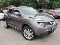 2015 NISSAN JUKE 1.6 ACENTA XTRONIC 5d AUTO 117 BHP £10250.00