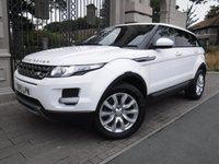 USED 2015 15 LAND ROVER RANGE ROVER EVOQUE 2.2 SD4 PURE TECH 5d AUTO 190 BHP 4x4 *** FINANCE & PART EXCHANGE WELCOME *** 1 OWNER DIESEL AUTOMATIC 4X4 SAT/NAV PANORAMIC ROOF FULL BLACK LEATHER PARKING SENSORS BLUETOOTH PHONE