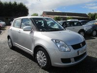 USED 2008 58 SUZUKI SWIFT 1.3 GL 5d 91 BHP