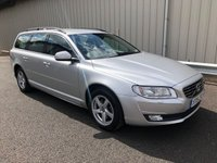 USED 2015 15 VOLVO V70 ESTATE 2.0 D3 DIESEL BUSINESS EDITION AUTO 148 BHP AUTO GEARBOX, HEATED SEATS, SAT NAV, FULL VOLVO HISTORY